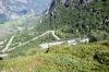 Vejen ned til Lysebotn
