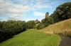 Parken for foden af Edinburgh Castle