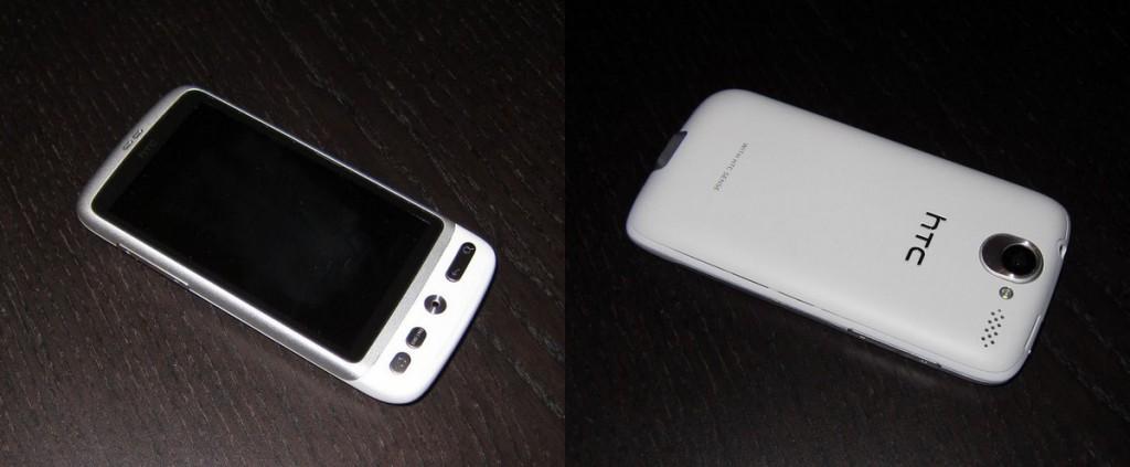 Hvid HTC Desire