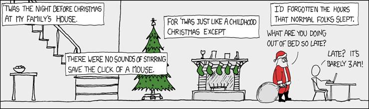 Xkcd juleaften
