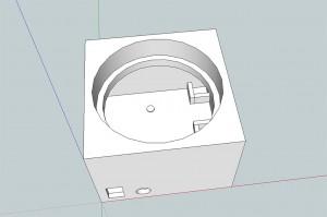 Den færdige 3D model