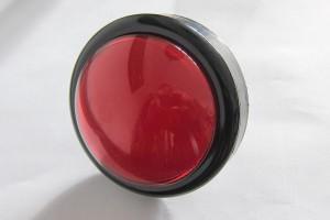 Stor rød knap